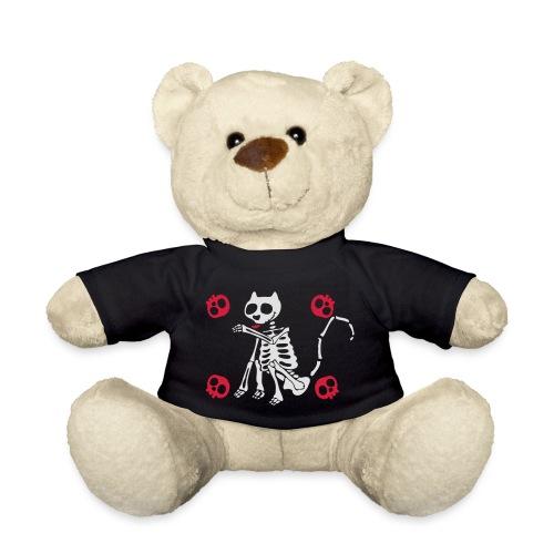 Katzen Skelett - Teddy