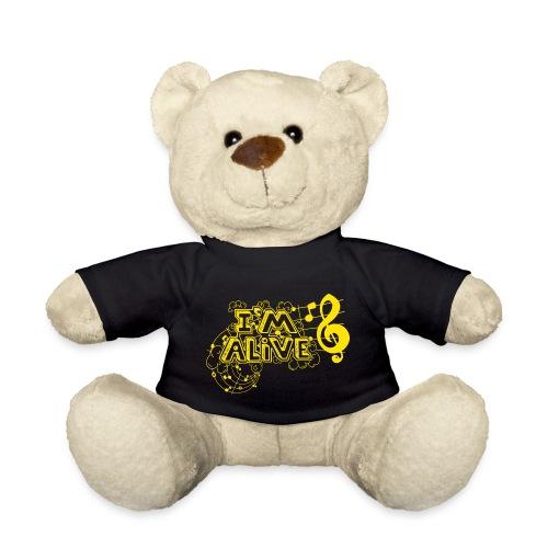 i m alive geel png - Teddy