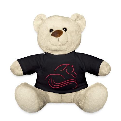 Pferrd von hinten - Teddy