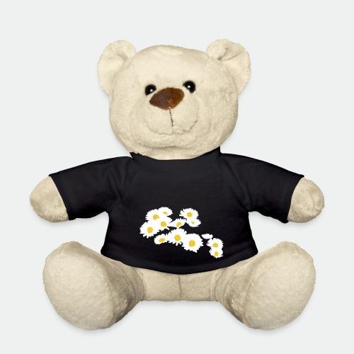 Spring Season Daisies - Teddy Bear