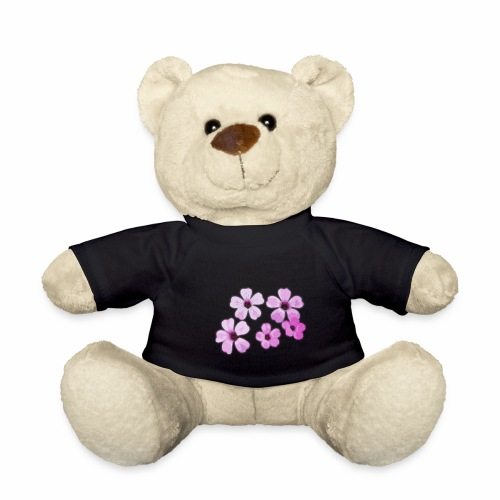 Blumen violett - Teddy