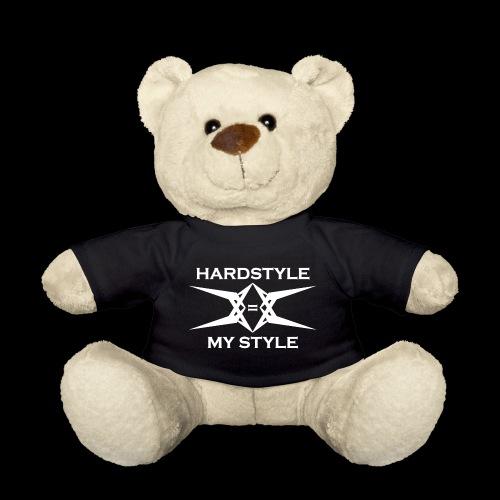 Hardstyle = My Style - Logo White - Teddy