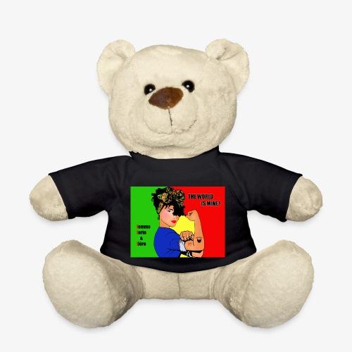 FFF strong & proud woman - Teddy Bear