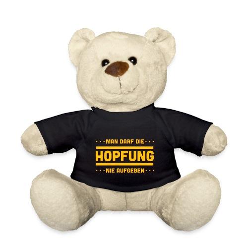 Bier - Hopfung Nie Aufgeben - Typo - Teddy