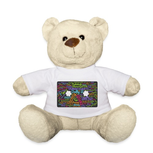 wordcloud Cassettes- WA - Teddy Bear