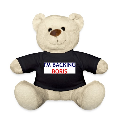 Backing Boris - Boxer Shirts - Teddy Bear