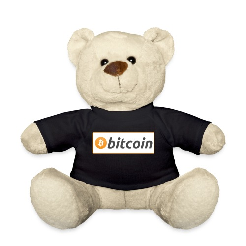 Bitcoin logo - Teddy Bear