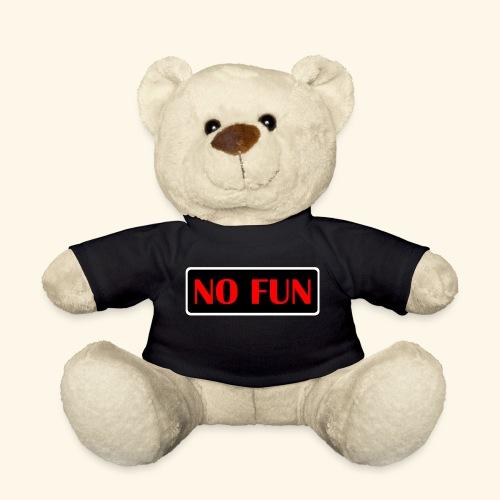 no fun - Teddybjørn