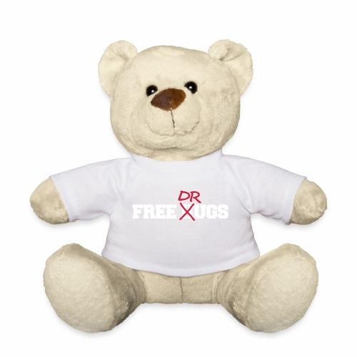 Free Hugs Drugs lustiger Party Drogen Fun Spruch - Teddy