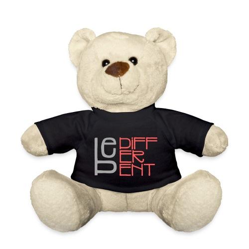 Be different - Fun Spruch Statement Sprüche Design - Teddy