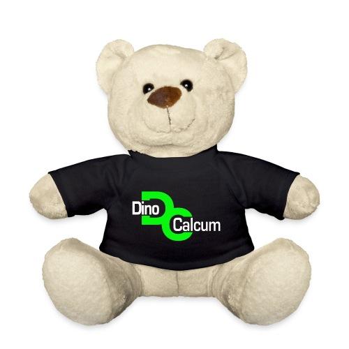 Dino Logo weiß freigestel - Teddy