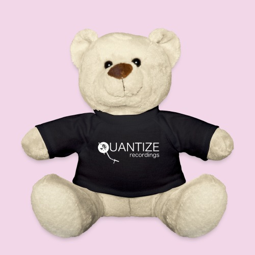 Quantize White Logo - Teddy Bear