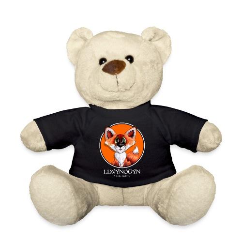 llwynogyn - a little red fox (white) - Teddy