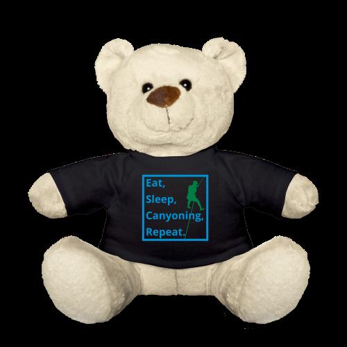 eat sleep canyoning repeat - Teddy