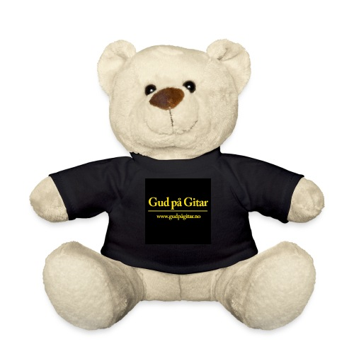 LOGO 1 PLAIN BLACK YELLOW - Teddybjørn