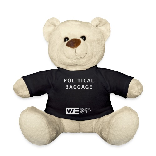 Political Baggage - Teddy Bear