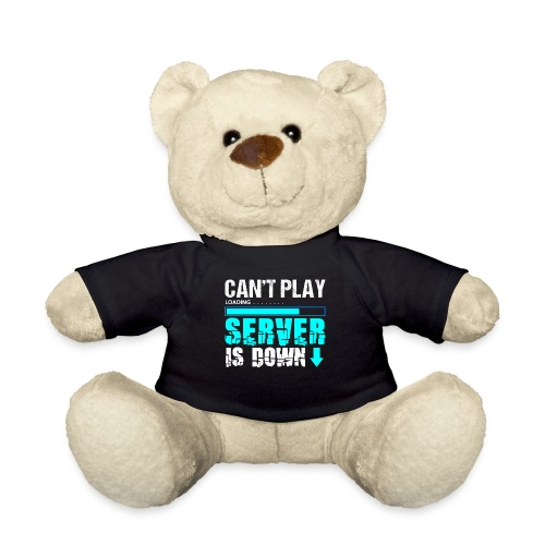 Can't Play Server Is Down | Gamer T-Shirt - Teddy