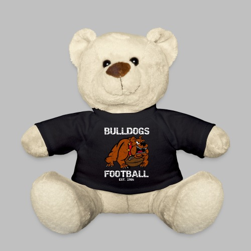 retro bulldogs football - Teddy