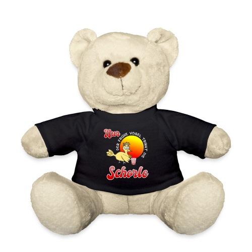 Nur der frühe Vogel trinkt die Schorle - Teddy