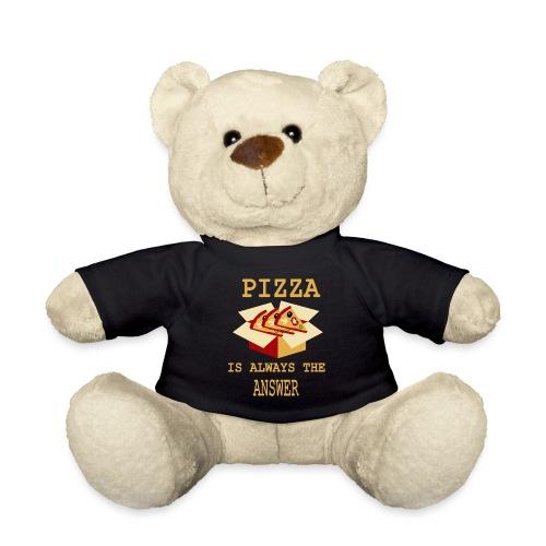 La pizza è sempre la risposta - Orsetto