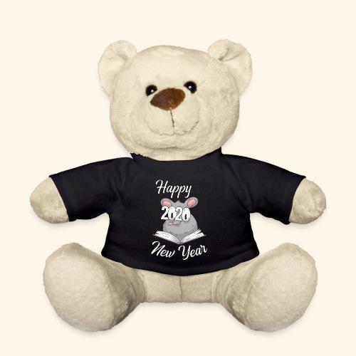 Happy New Year 2020 China Sternzeichen der Ratte - Teddy