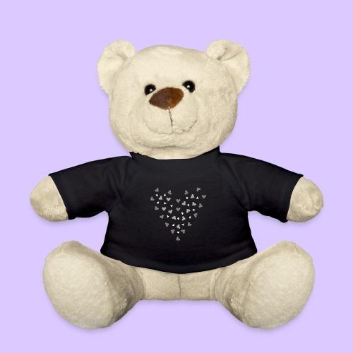 viele Herzen, Liebe, Verlobung, Hochzeit, Herz - Teddy