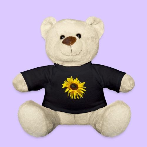 blühende Sonnenblume, Sonnenblumen, Blumen, Blüten - Teddy