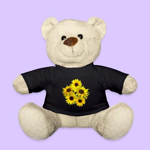 Sonnenblumenstrauss, Sonnenblume, Sonnenblumen - Teddy