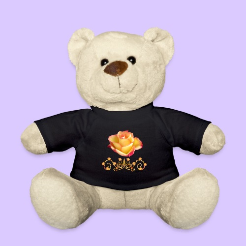 orange Rose, Ornament, Rosen, Blumen, Blüten, edel - Teddy