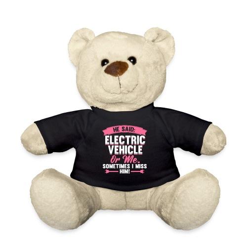 Lustiges Elektroauto Geschenk Frauen - Teddy