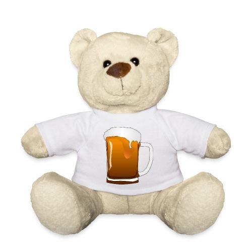 Cartoon Bier Geschenkidee Biermaß - Teddy