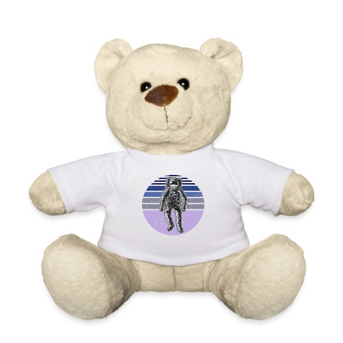 Astronaut Vintage Retro Weltraum Geschenkidee - Teddy