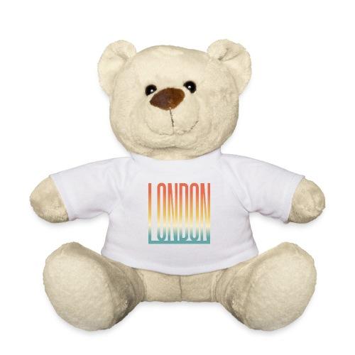 London Souvenir England Simple Name London - Teddy