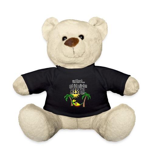 und heut... geb ich mir den Rest - Party Banane - Teddy Bear