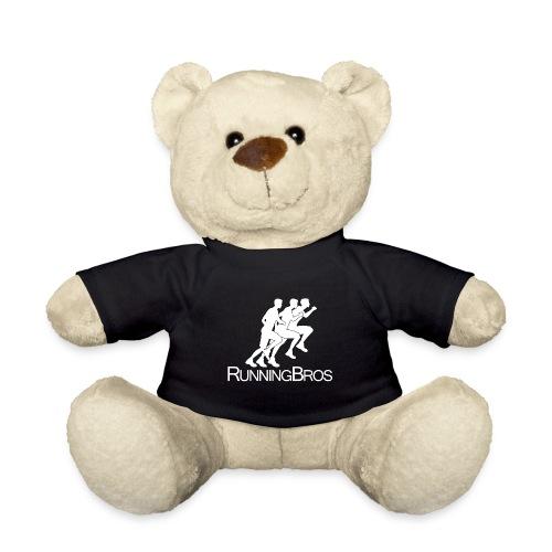 RunningBros Logo weiß - Teddy