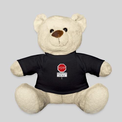 ASAP Always stop and pray - Halte inne und bete - Teddy