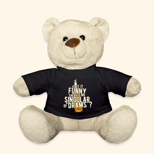 Whisky T Shirt Design Singular of Drams - Teddy