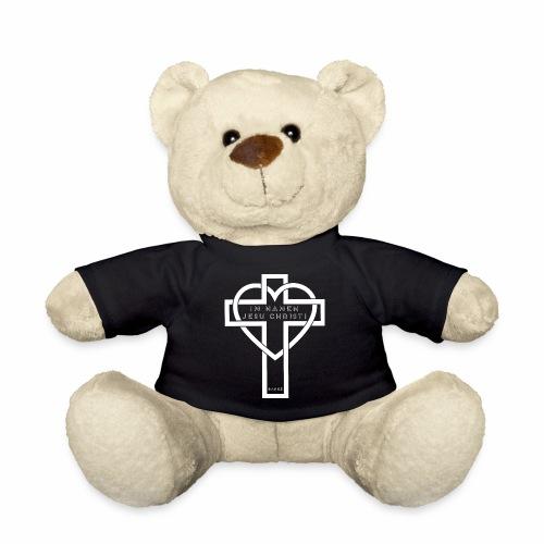 Im Namen JESU CHRISTI - weiß - Teddy