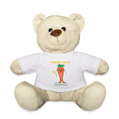 Crunchie carrot with name - Teddy Bear