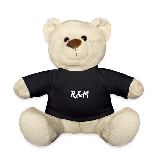 R&M Large Logo tshirt black - Teddy Bear