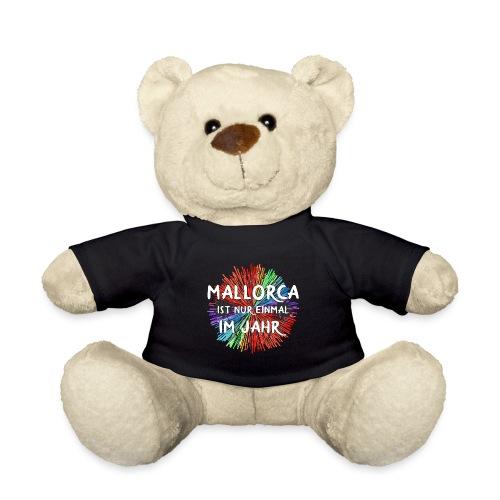 Mallorca einmal im Jahr Shirt Geschenk - Teddy