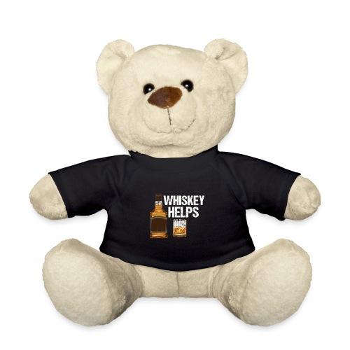 Whiskey helps - Alkohol - Teddy