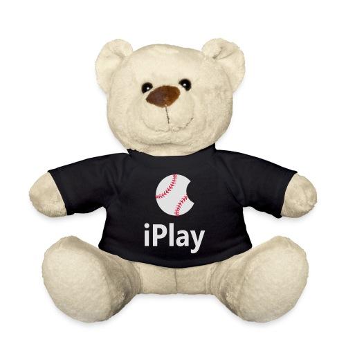 Baseball Logo iPlay - Teddy Bear
