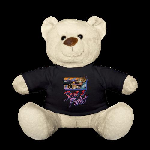 Gun Dog - Serve and protect - napis - Miś w koszulce