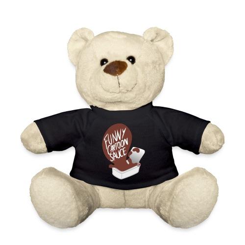 FUNNY CARTOON SAUCE - FEMALE - Teddy Bear