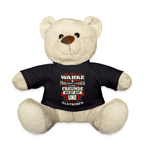 Freunde lassen Freunde nicht auf 1 und 3 klatschen - Teddy