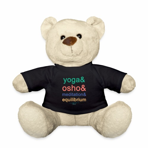 Yoga& Osho& Meditation& Equilibrium - Teddy Bear
