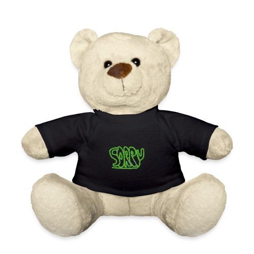 Sorry inscription - Teddy Bear