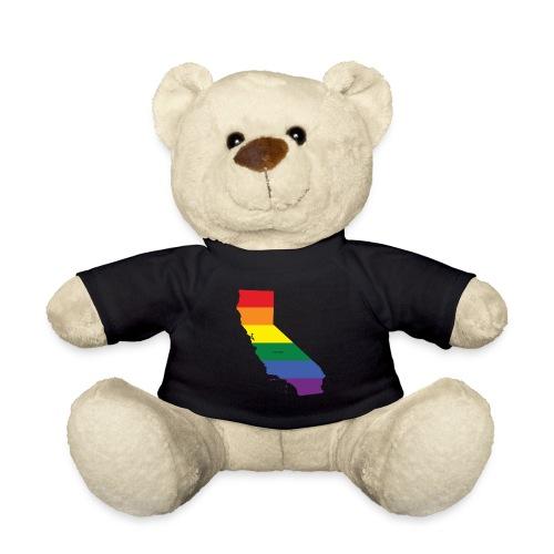 California Rainbow Flag - Teddy Bear