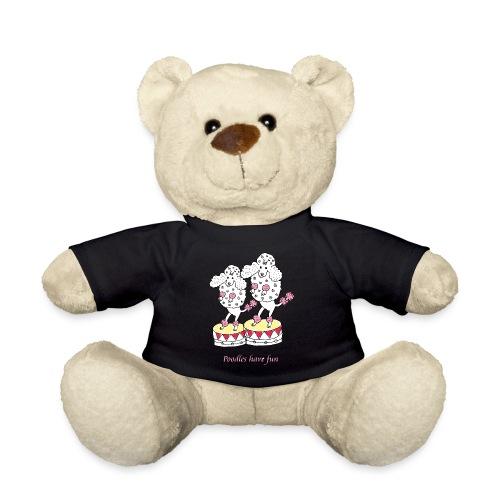 Poodles have fun - Teddybjørn